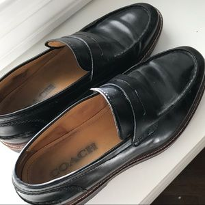 COACH Loafer Black Men's Sz 8.5